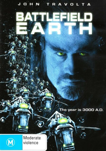 Battlefield Earth (DVD, 2008) JOHN TRAVOLTA R4 DVD