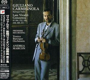CARMIGNOLA-Late-Vivaldi-Concetos-SACD-CD-Aug-2006-Sony-CBS-MULTI-CHANNEL