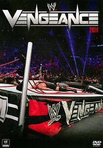 WWE-Vengeance-2011-DVD-Region-1-Very-Good-condition-from-personal-collection