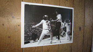 Freddie-Mercury-Queen-SuperGroup-Live-on-Stage-BW-POSTER