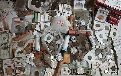 OLD US World Estate Collection W Gold Silver Copper Bullion Peso Certified Coin