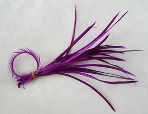 Hot-20-Pcs-Purple-Feathers-hair-extensions-6-8Inches