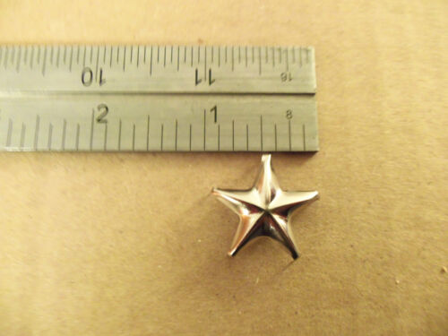 Nickel Studs For Leather Solid Brass Star Spots