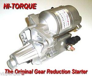 Hi torque starter motor chrysler valiant 245 265 6 for Hi torque starter motor