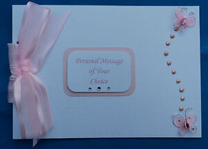 Personalised-Butterfly-Wedding-Birthday-Hen-Christening-Photo-Album-Guest-Book