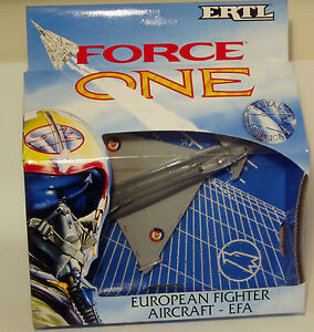 1990-s-original-ERTL-Force-One-European-Fighter-Aircraft-EFA-diecast-Toy