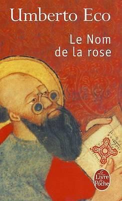 (Good)-Le nom de la rose (Livre De Poche) (Mass Market Paperback)-Eco, Umberto-2