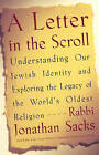 A Letter in the Scrolls by Rabbi Jonathan Sacks (Paperback, 2004)
