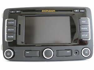 vw rns310 navigation system fx v4 cd gb irl 310 510 sat. Black Bedroom Furniture Sets. Home Design Ideas