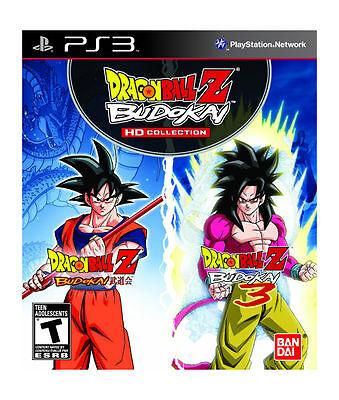 NEW Dragon Ball Z: Budokai HD Collection (Sony Playstation 3) NTSC