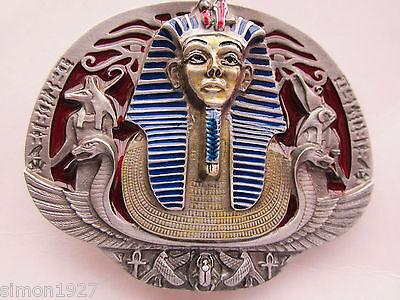 Tutankhamun belt buckle King Tutankhamun of Egypt and the  Pyramids.