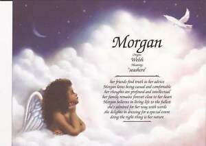 Personalized-First-Name-Meaning-034-Girl-Angel-034-African-American-Art-Background