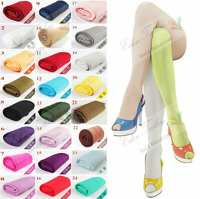 Fashion Summer HOT Sheer 12D Women PANTYHOSE Tights 24 Candy Colors