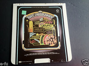 MGM-THAT-039-S-ENTERTAINMENT-CED-Videodisc-Bing-Crosby-Narrated-by-FRED-ASTAIRE-Good