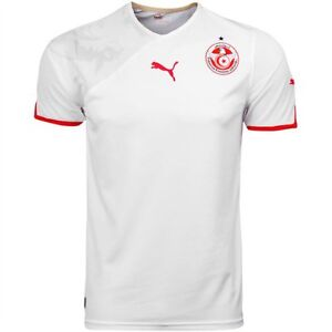 c272375ba55 Image is loading nwt-AUTHENTIC-Puma-TUNISIA-NATIONAL-TEAM-Football-Soccer-