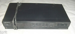 SONY ST JX380 FM AM STEREO TUNER quartz DIGITAL SYNTHES