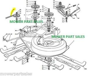 john deere 0 turn mowers with 331317872534 on Index besides 331317872534 further R25704609 Mower belt diagram 5 furthermore Husqvarna 48 Zero Turn Mower Parts Diagram further S 266 John Deere Z525e Parts.