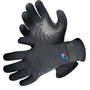 NEOSPORT-by-Henderson-7mm-Velcro-wetsuit-gloves-Scuba-Dive-SUP-clamming-PWC