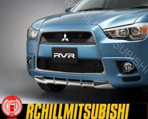 2011 2013 mitsubishi outlander sport rvr front chrome. Black Bedroom Furniture Sets. Home Design Ideas