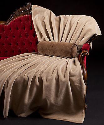 Wolldecke, Kamelhaar Decke, Tagesdecke, Wollplaid, Tagesdecke, Made in Germany