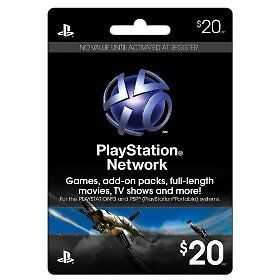 USA-20-PlayStation-Network-PSN-Card-for-PS3-amp-PSP-FAST-FREE-SHIPPING-Worldwide