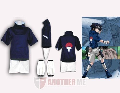 Another Me Halloween Naruto Anime Ninja Sasuke Uchiha Costume Standard Size