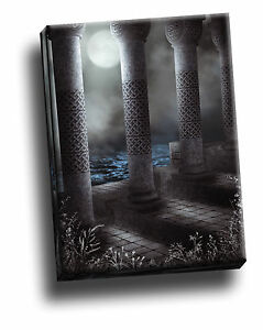 Beautiful Gothic Pillars Giclee Canvas Picture Art Decoration