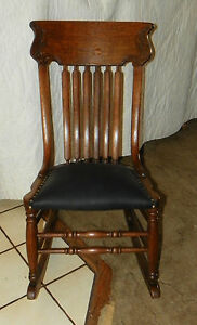 Quartersawn-Oak-Carved-Sewing-Rocker-with-Black-Leather-R2