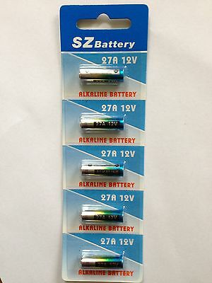 2 x 27a 27A 27S Alkaline 12v Replacement Remote Battery Suit Car Door Gate Alarm
