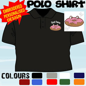 PERSONALISED-EMBROIDERED-DOUGHNUT-SHOP-BUSINESS-WORKWEAR-T-POLO-SHIRT