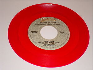 Tom Petty Amp The Heartbreakers Original Red Colored Vinyl