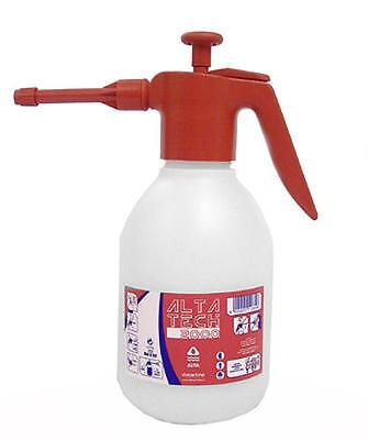 EPDM Pressure Sprayer Bottle 2L Red For Chemicals Glycol Detergent Acid Oil