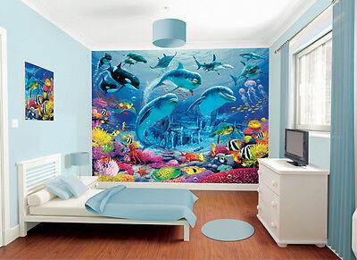 Child's Bedroom Walltastic Sea Adventure Wallpaper Mural