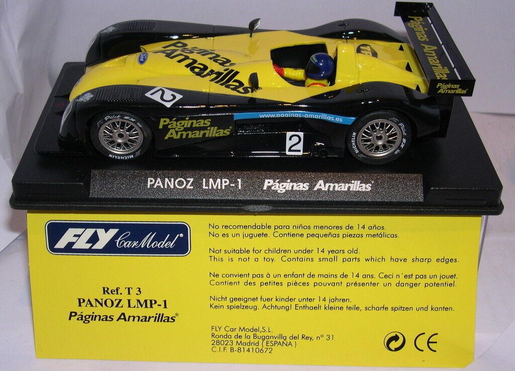 flygaga T3 Panoz Lmp -1 sidor Amarillas särskild Edition MB
