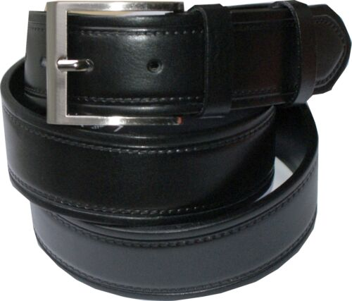 95-120 CM NEUF 100/% cuir de buffle; 4mm épais Cuir Ceinture * Elegant *