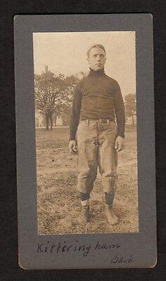 1910's GEORGE KITTERINGHAM Early Professional Football Photo