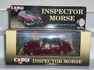 CORGI-96682-INSPECTOR-MORSE-1ST-SERIES-JOHN-THAW-JAGUAR-MK2-DIECAST-MODEL-CAR