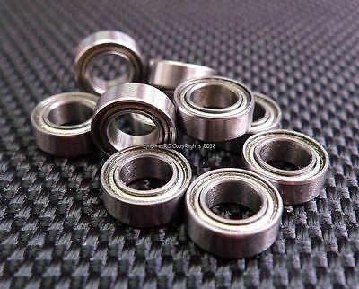 (10 PCS) MR74ZZ (4x7x2.5 mm) Metal Shielded Ball Bearing Bearings MR74z