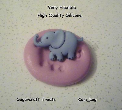 Elephant Silicone Mould, Sugarcraft, Cake Decorating, Crafts, Fimo, Food Safe