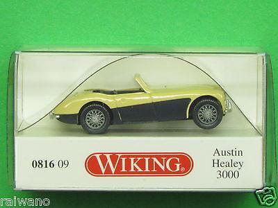 1:87 Wiking 081609 Austin Healey 3000 elfenbein Blitzversand per DHL-Paket
