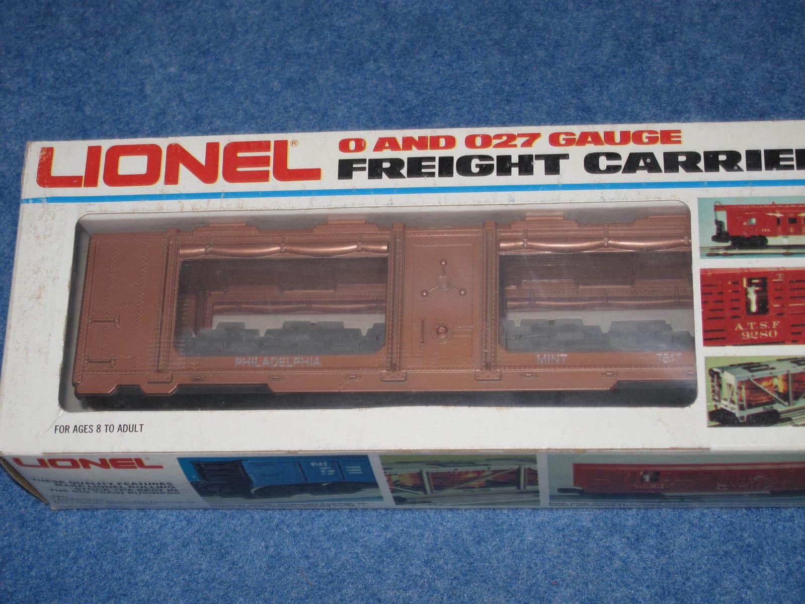 1982 Lionel 67517 Philadelphia Nuovo di zecca argentoo Auto L2241