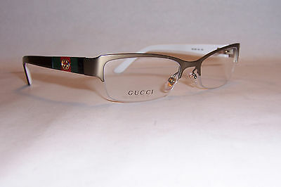NEW GUCCI EYEGLASSES GG 4213 GG4213 5L3 BROWN GOLD 51mm RX AUTHENTIC
