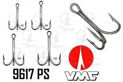 (0,55 €/Stk) 5 Stk VMC 9617 PS Drilling 1/0 2/0 Permasteel Meeresdrilling Pilker