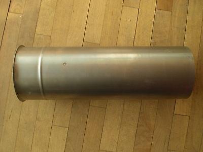 Wandfutter Doppelwandfutter Wandmuffe Ofenrohr extra lang 120 mm L=40cm inkl Dic