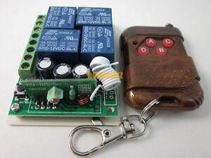 12V-Wireless-4-Channel-RF-Remote-control-Switch-Module-for-motor-light-garage