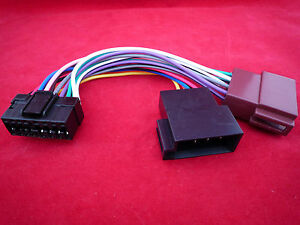 sony 16 pin iso mex bt3600u bt3800u bt2900 bt3900u wiring harness image is loading sony 16 pin iso mex bt3600u bt3800u bt2900