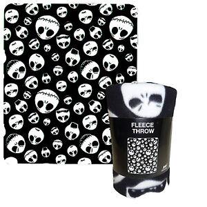 Nightmare-Before-Christmas-Tim-Burton-Jack-50-x-60-Fleece-Throw-Blanket-NEW