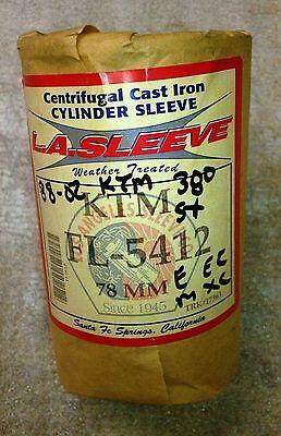 L.A. SLEEVE CAST IRON CYLINDER LINER FL5412 ADVANCED KTM 380 SX E XC M XC