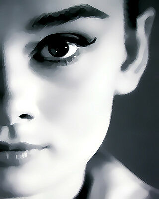 Audrey Hepburn #22 Pop Art Canvas 16 x 20