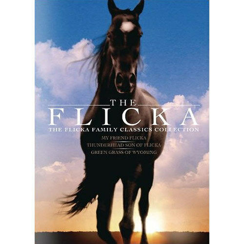 The Flicka Family Classics Collection DVD 2007 3-Disc Box Set SEALED FAST SHIP